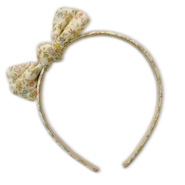 Zoe Headband with Bow Liberty Danish Floral