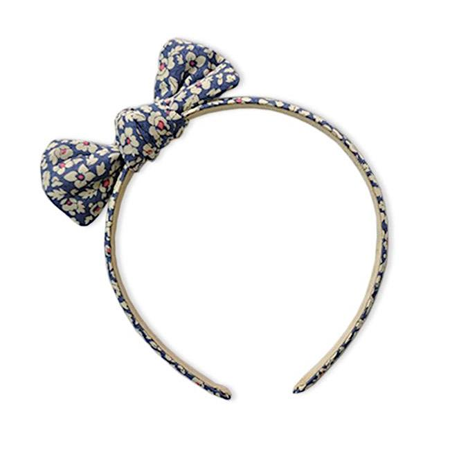 Zoe Headband with Bow Liberty Feather Fields