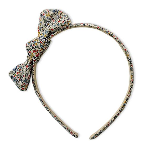 Zoe Headband with Bow Liberty Katie & Millie