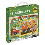 Le Petit Collage Sticker Art Kit On The Road