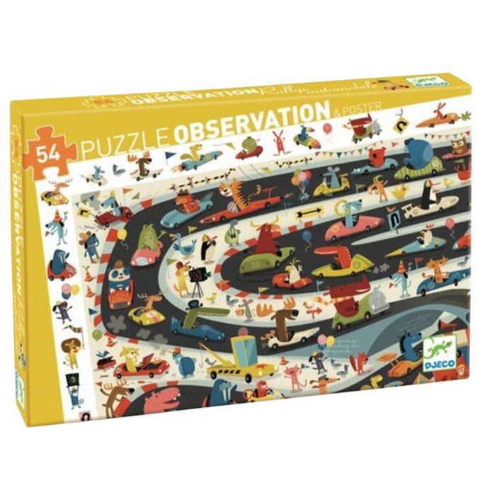 Car Rally Puzzle 54pce