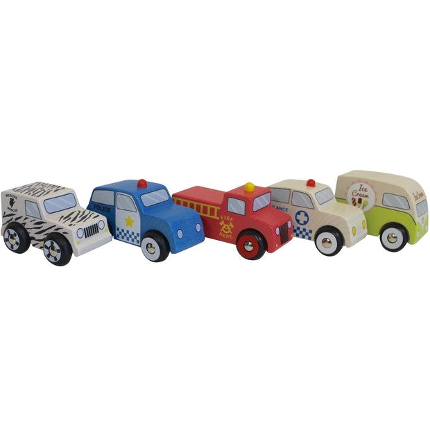 Discoveroo Emergency Car Set