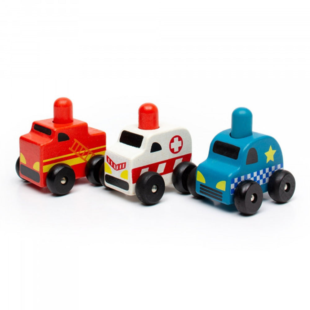 Discoveroo Emergency Cars