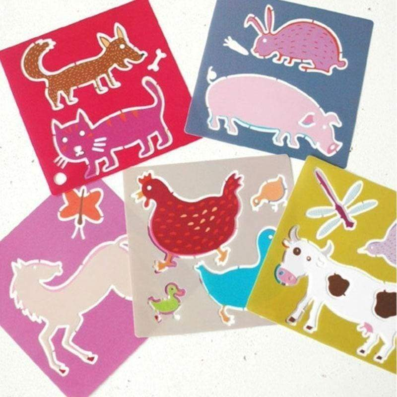 Stencils Farm Animals