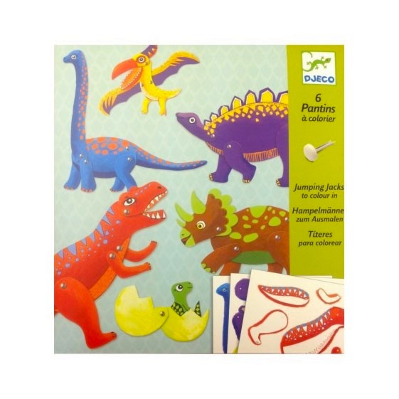 Jumping Jacks Dinosaurs