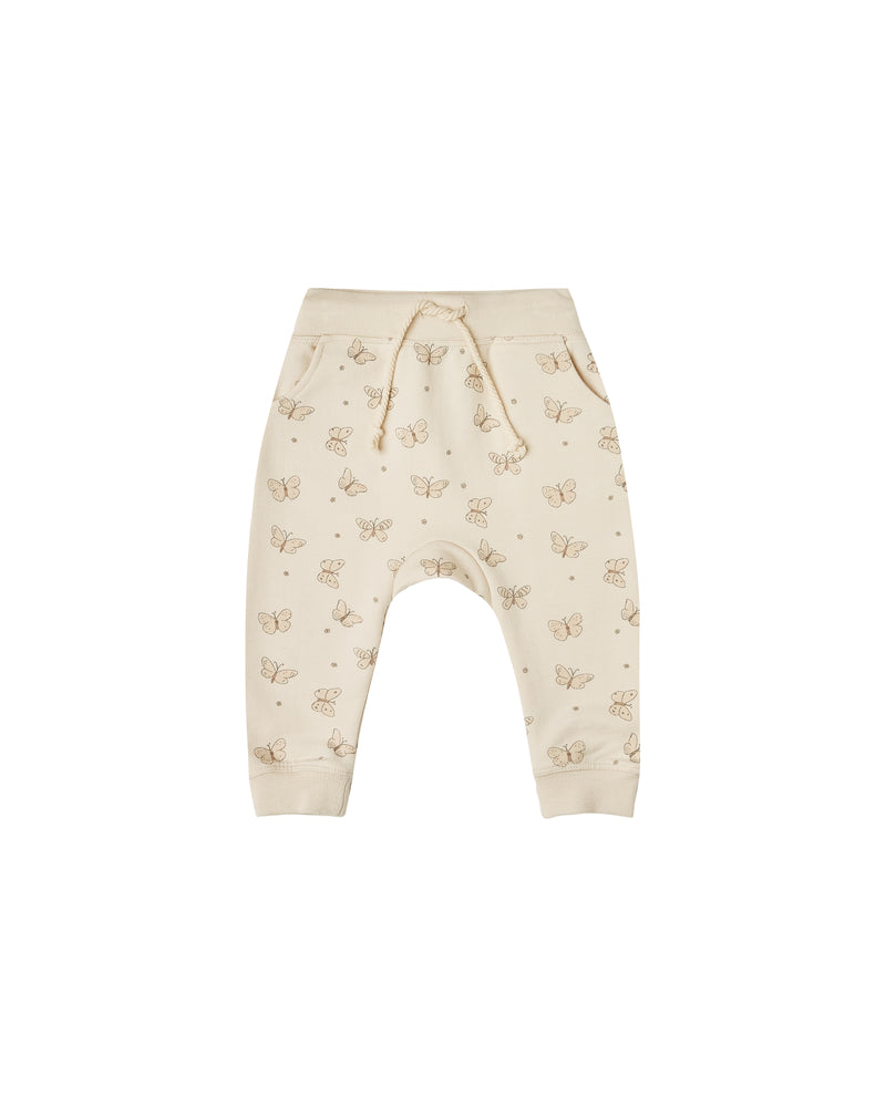 Rylee & Cru Terry Sweatpant Butterfly