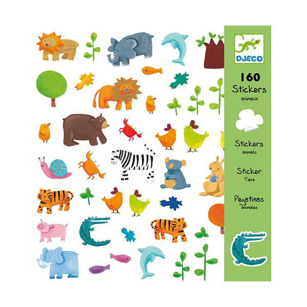 160 Stickers Animals