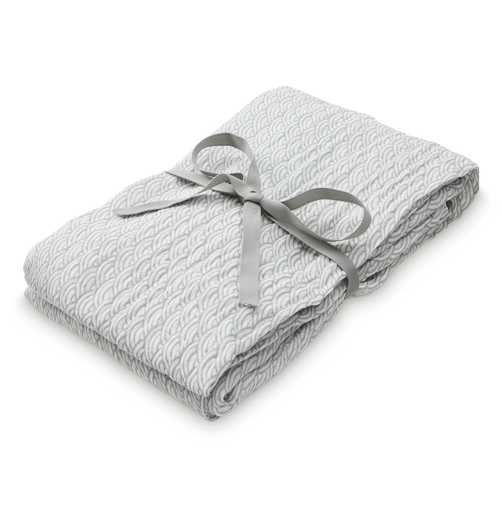 CAM CAM Organic Light Swaddle Grey Wave