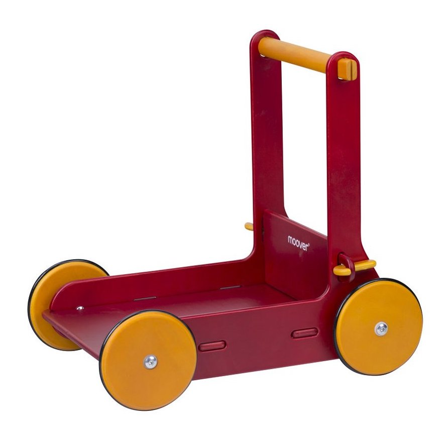 Wooden Walker Red