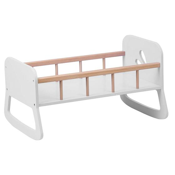 Moover Wooden Doll Cradle White