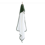 Burrow & Be Baby Hooded Towel Pine