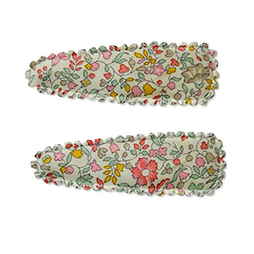 Polly Liberty Twin Snap Spring Flowers