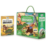 Travel, Learn & Explore: Dinosaurs 205pcs
