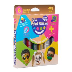 6 Face Paint Sticks Classic