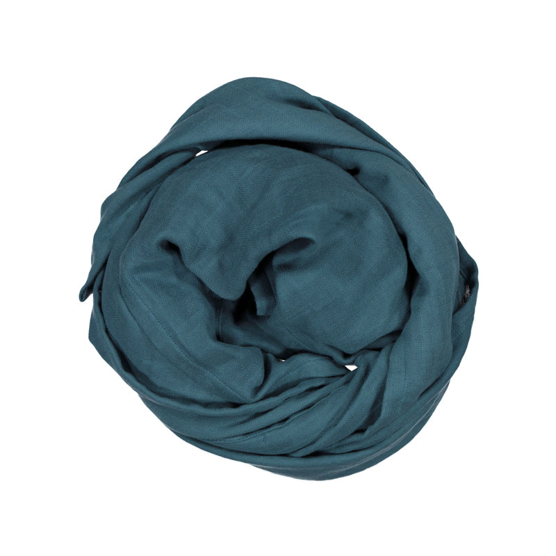 Burrow & Be Essentials Muslin Wrap Teal