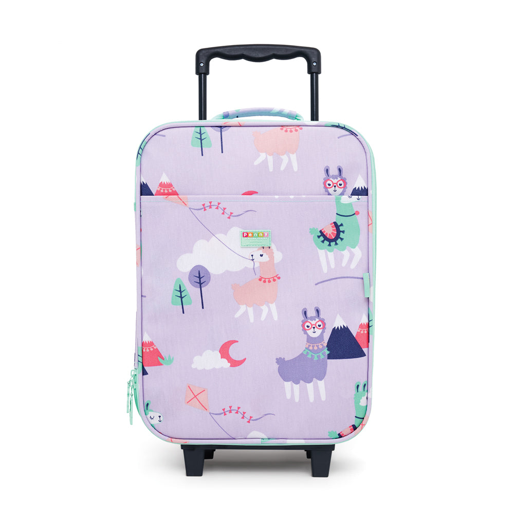 Penny Scallan Wheelie Bag Loopy Llama