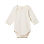 Nature Baby Long Sleeve Bodysuit Natural