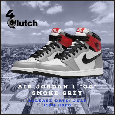 "Air Jordan 1 ""OG"" Smoke Grey"