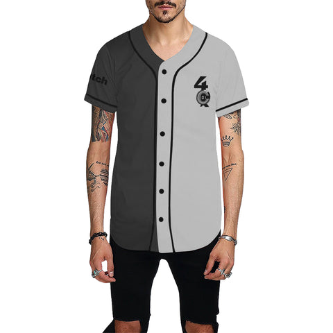 Culture 101 - Black/Grey Baseball Jersey