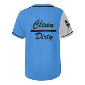 Clean Over Dirty Baseball Jersey