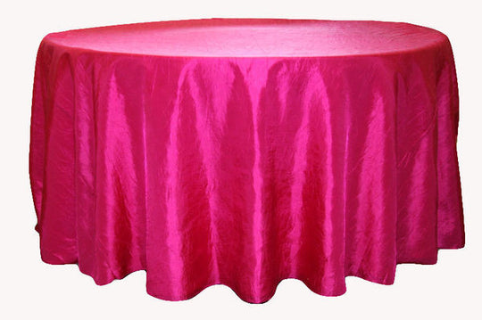 Crinkle Taffeta Table Linens