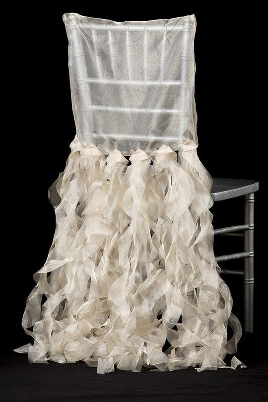 Chiavari Curly Willow Chair Back Covers