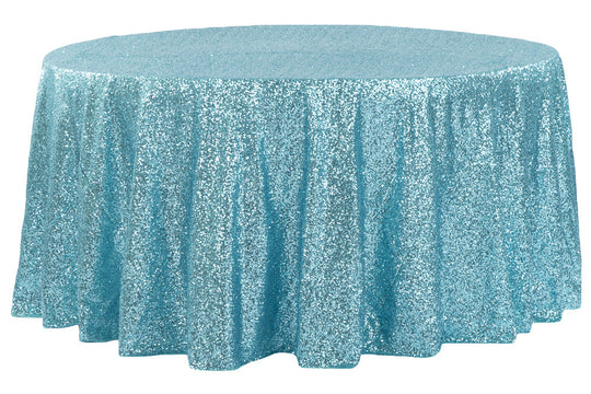 Glitz Sequin Round Table Linens