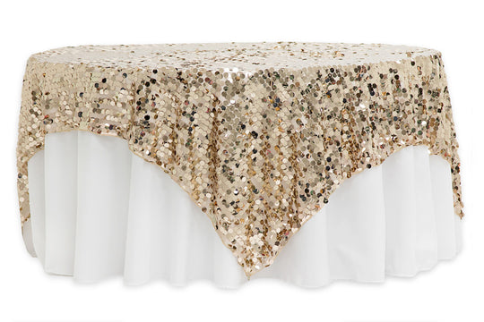 Large Payette Sequin Table Overlays