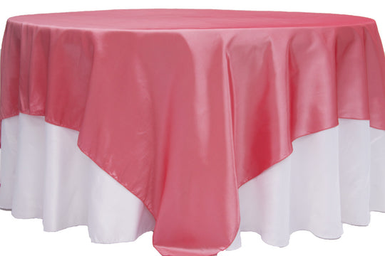 Taffeta Table Overlays