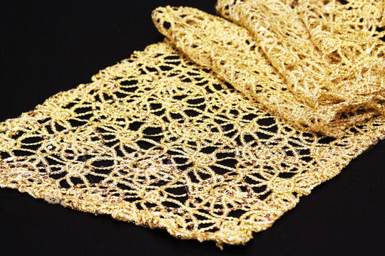 Chemical Lace Table Runners