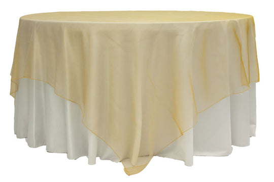 Organza Table Overlays