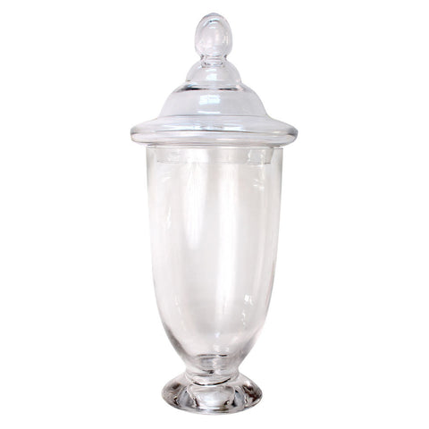 "18.9"" Apothecary Glass Jar"