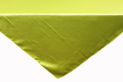 Satin Table Overlay - Apple Green