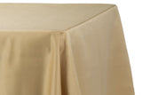 Lamour Satin Rectangular Table Linens - Ivory