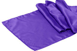 Lamour Satin Runner - Purple