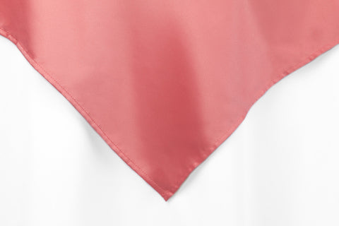 Lamour Satin Overlays - Coral