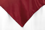 Lamour Satin Overlays - Apple Red