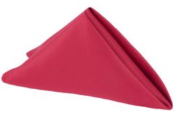 Lamour Satin Napkin - Apple Red