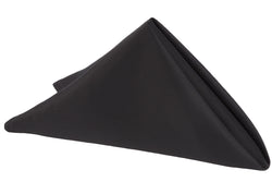 Lamour Satin Napkin - Black