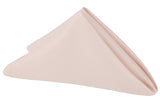 Lamour Satin Napkin - Blush/Rose Gold