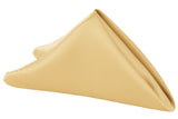 Lamour Satin Napkin - Gold Antique