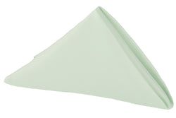 Lamour Satin Napkin - Mint Green