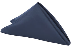 Lamour Satin Napkin - Navy Blue