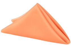 Lamour Satin Napkin - Orange