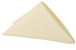 Lamour Satin Napkin - Pastel Yellow
