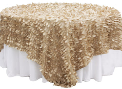 Leaf Petal Table Overlay - Champagne