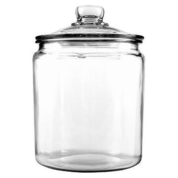 Medium Glass Apothecary Jar 12.5""