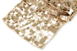 Large Payette Sequin Table Runner - Champagne