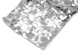 Large Payette Sequin Table Runner - Silver