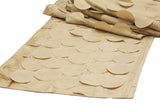 Petal Circle Table Runners - Gold